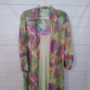 DIANE VON FURSTENBERG SILK DRESS size 10